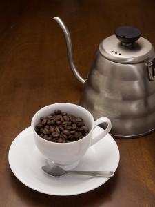 八ヶ岳の水で入れたコーヒー
